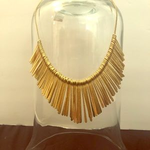 Gold toned Statement Necklace
